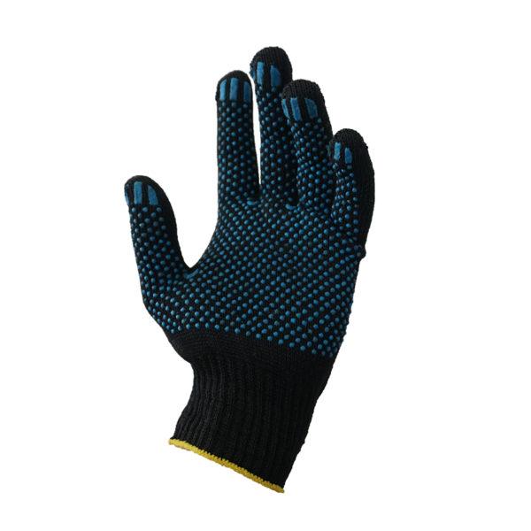 Перчатки трикотажные с ПВХ. 170 текс