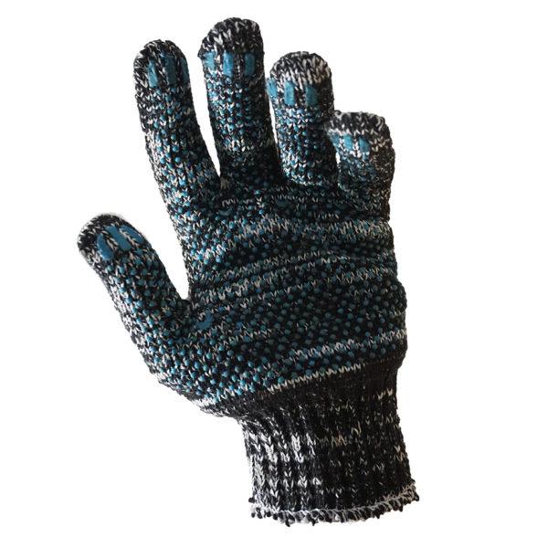 Перчатки трикотажные с ПВХ. 280 текс