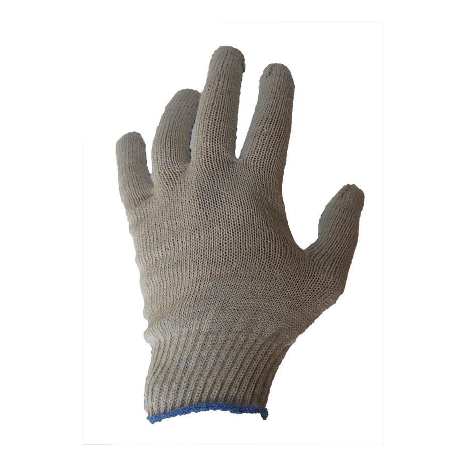 Перчатки трикотажные с ПВХ. 160 текс 19 p.
