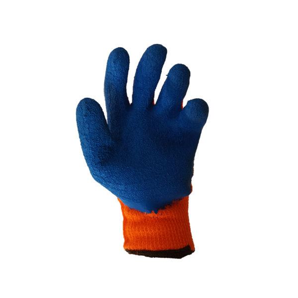 Перчатки нейлоновые с рильефным латексным покрытием