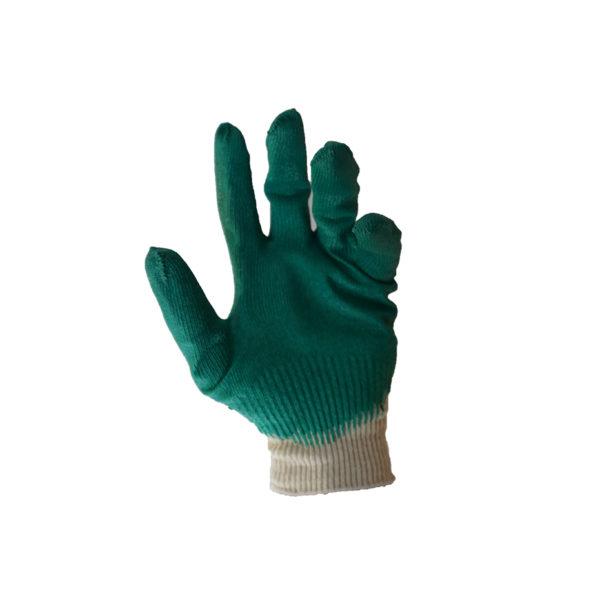 Перчатки трикотажные с одинарным латексным покрытием