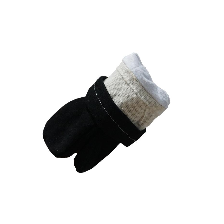 Рукавицы спилковые двупалые с подкладкой